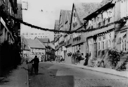 , he_0268, Lange Straße Hardegsen, 1957
