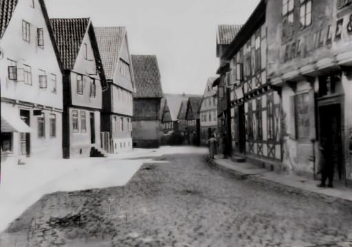 , li_0111, Stadtrundgang um 1930, Lange Straße, 1935