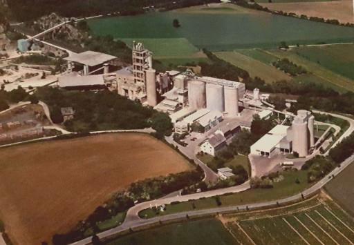, li_0699, Zementwerk 1980, um 1980