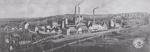 , li_1012, Zementwerk 1920, 1920