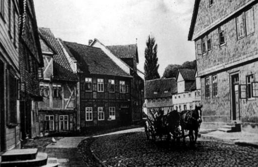 , te_0261, Stadtrundgang um 1930, Lange Straße, um 1930