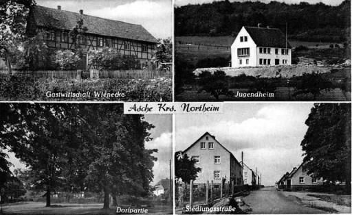 , wi_0006, Postkarte von Asche , ohne Datum